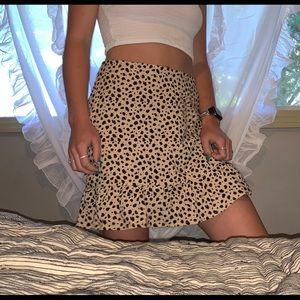 Lottie Moss short skirt